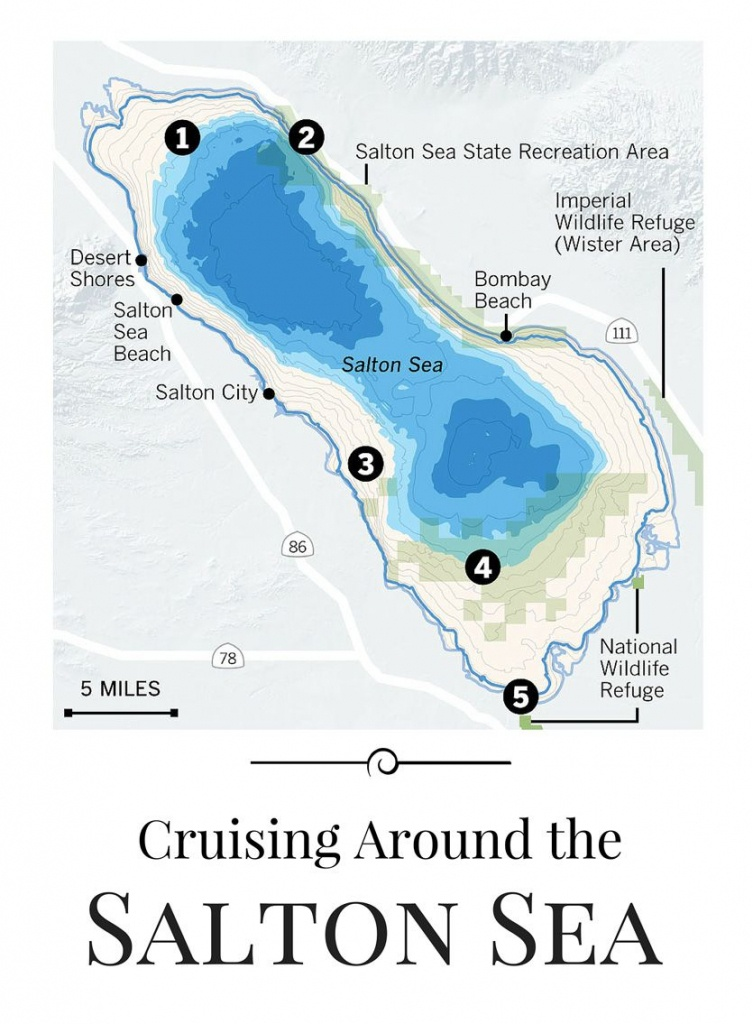 Cruising Around The Salton Sea | Lakes | Salton Sea, Salton Sea - Salton Sea California Map