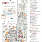 Csun Maps | California State University, Northridge   California University Of Pa Campus Map