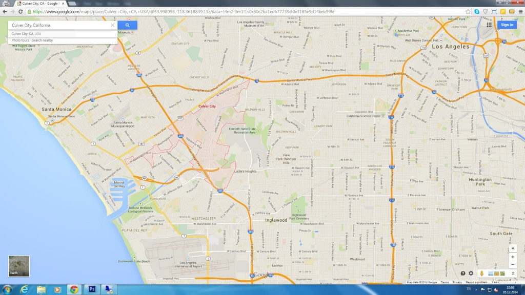 Culver City California Map - Culver City California Map