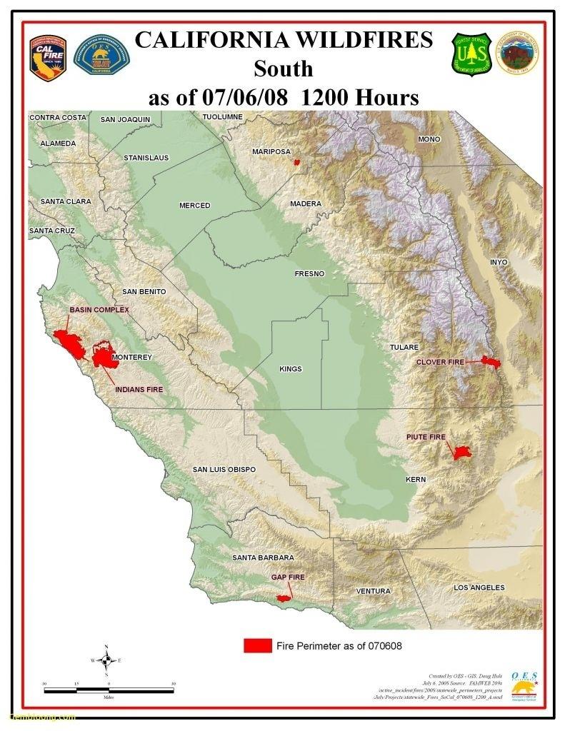 Current Southern California Fire Map – Etiforum For Map Of Fires In - Map Of Current Fires In Southern California