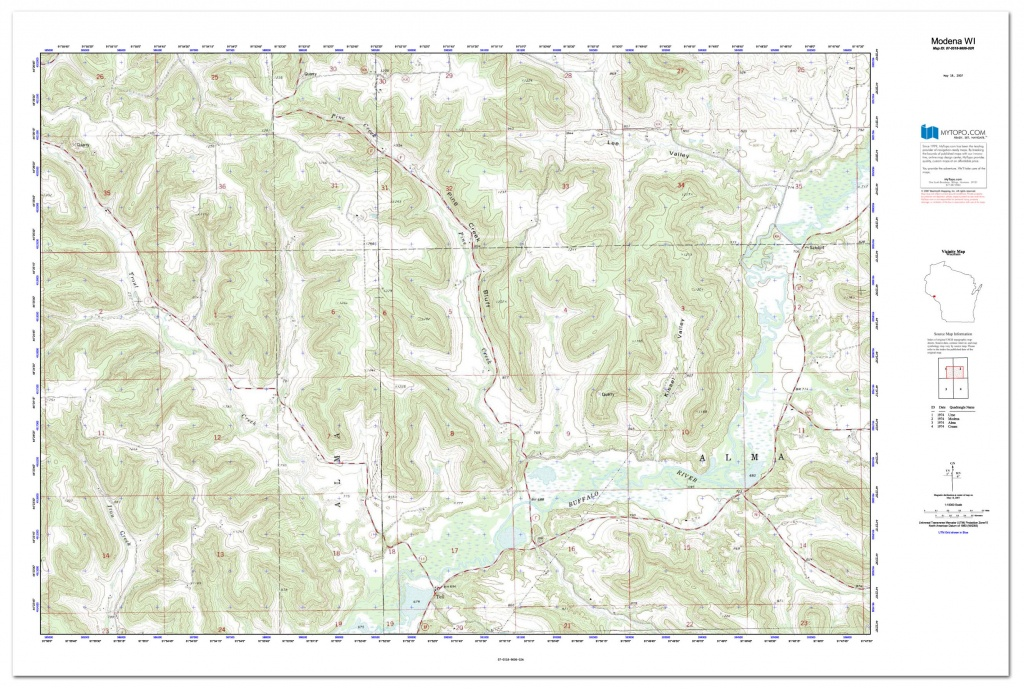 Custom Printed Topo Maps - Custom Printed Aerial Photos - Printable Aerial Maps