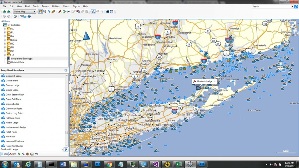 Custom Sd Card Of Fishing Spots For Your Gps Unit - The Hull Truth - Florida Saltwater Fishing Maps