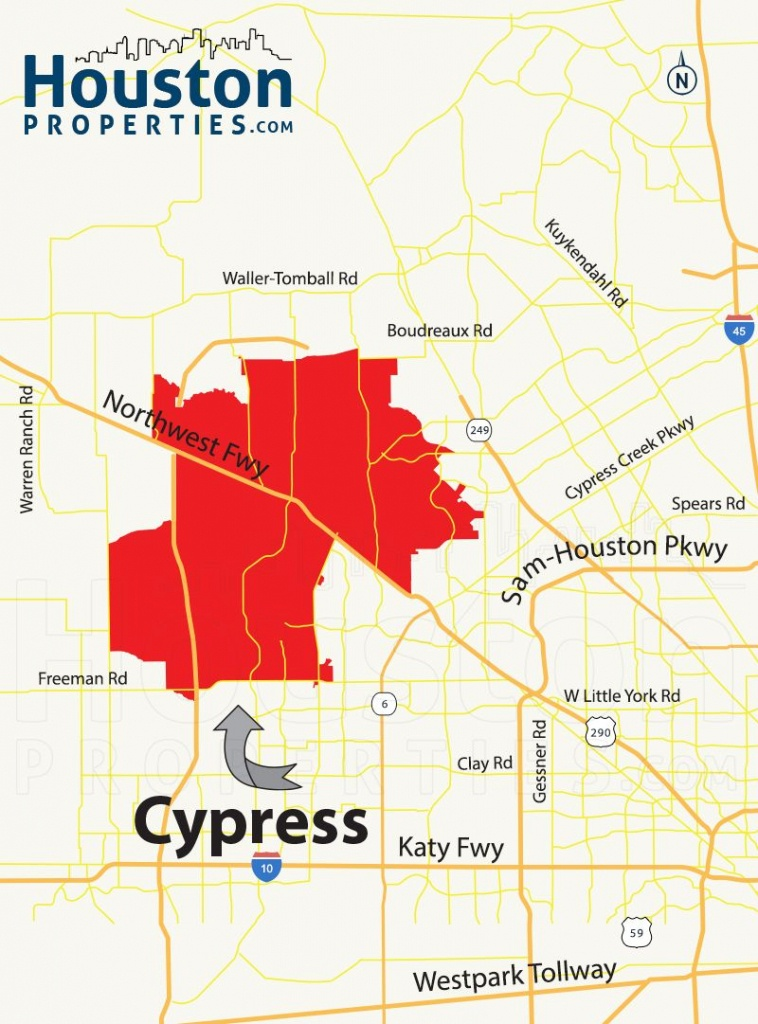 Cypress Tx Map | Great Maps Of Houston | Houston Neighborhoods, Real - Stafford Texas Map