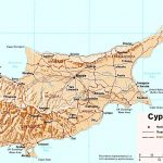 Cyprus Maps | Printable Maps Of Cyprus For Download   Printable Map Of Cyprus