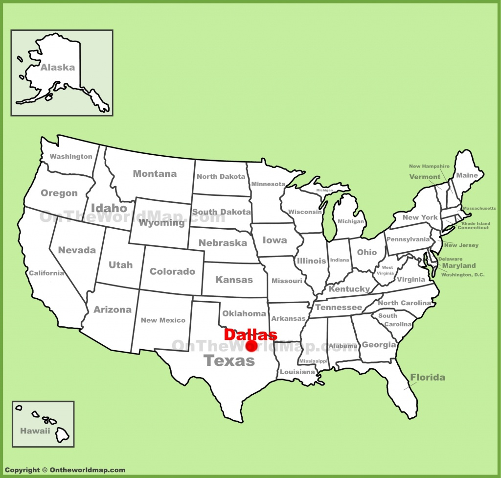 Dallas Maps | Texas, U.s. | Maps Of Dallas - Dallas Map Of Texas
