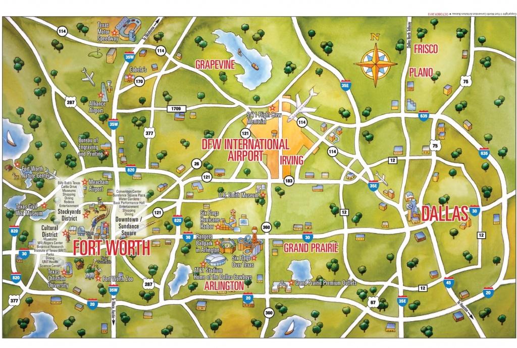 Dallas Maps   Texas, U.s.   Maps Of Dallas - Map Of Downtown Dallas Texas