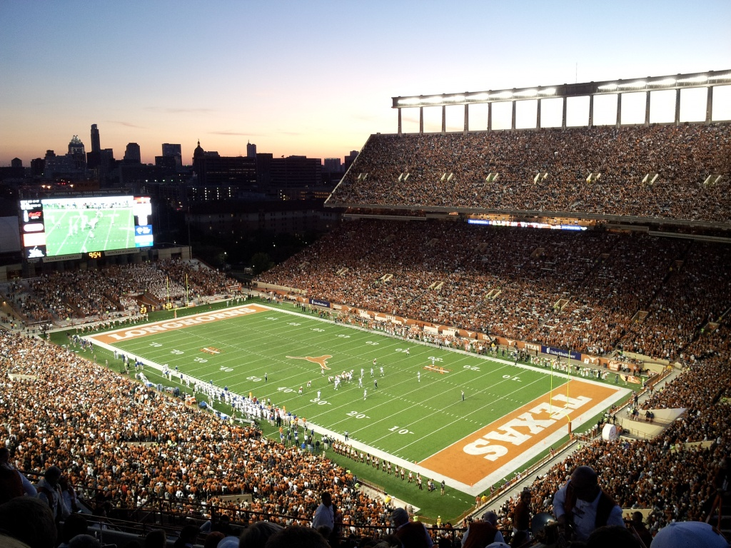 Darrell K Royal–Texas Memorial Stadium - Wikipedia - University Of Texas Football Stadium Map