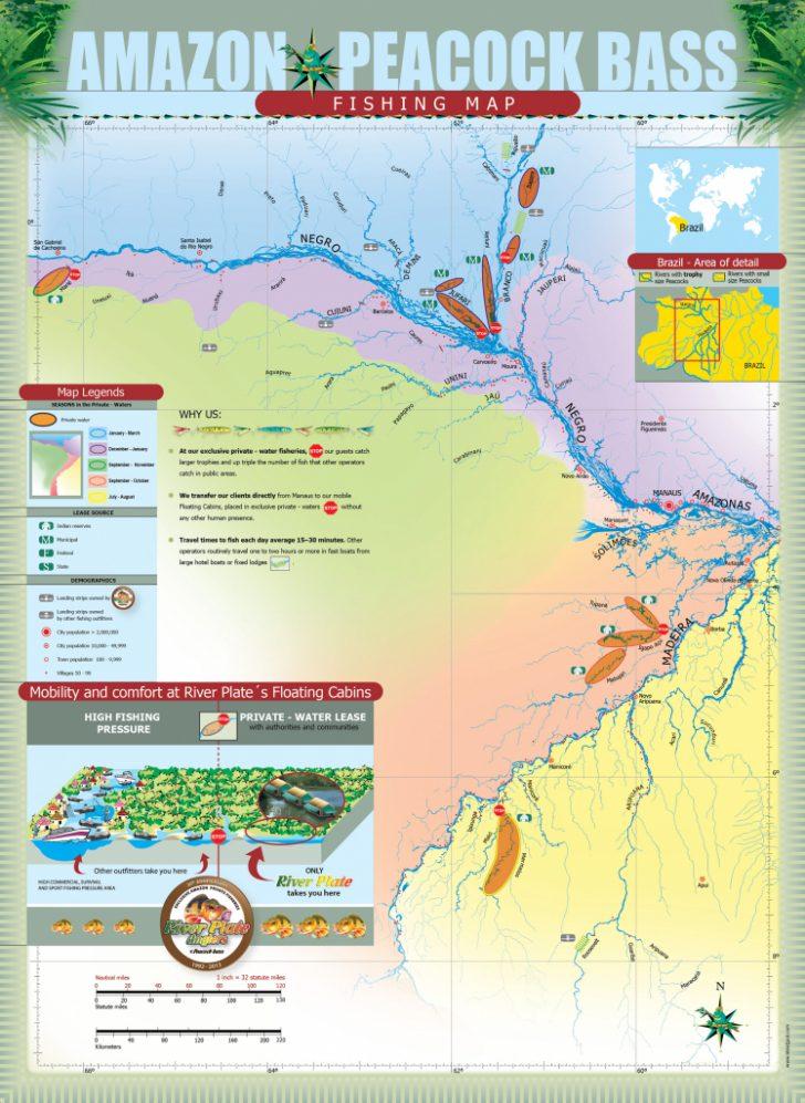 Peacock Bass Florida Map