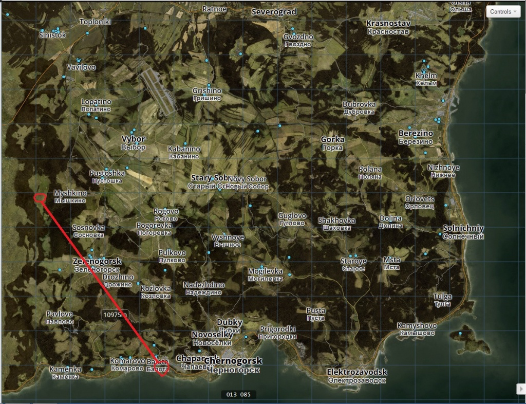 Dayz Standalone Map ~ Map Of The World Map - Printable Dayz Standalone Map