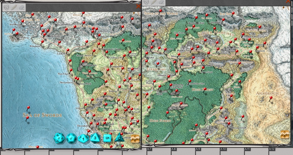 D&d Storm King's Thunder For Fantasy Grounds - Storm King's Thunder Printable Maps
