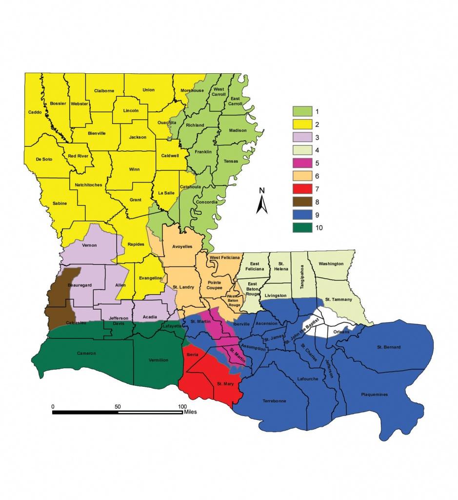 Deer Hunting Seasons | Louisiana Hunting Seasons & Regulations - Texas Deer Hunting Zones Map