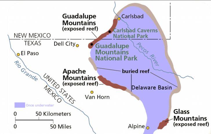 Permian Basin Texas Map