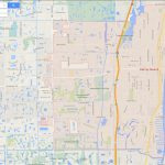 Delray Beach Florida Map   Del Ray Florida Map
