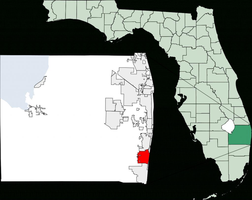 Delray Beach, Florida - Wikipedia - Map Of Sw Florida Beaches