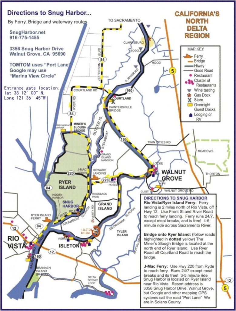 Delta Maps – Deltacalifornia - California Delta Map Download