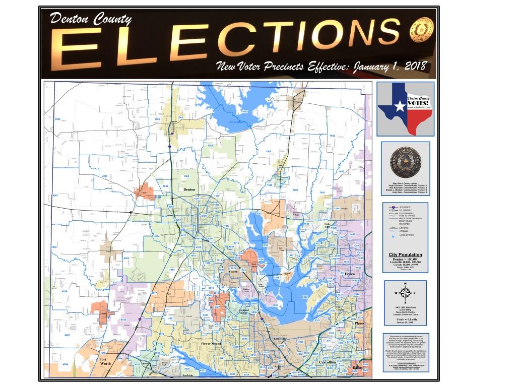 Denton County, Tx Elections - Texas District 25 Map