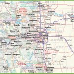 Denver Area Road Map   Printable Map Of Denver