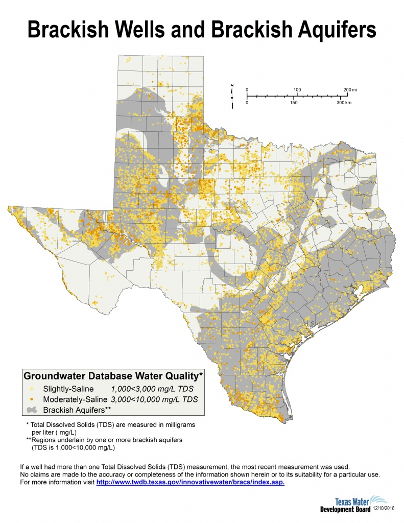 Desalination Documents - Innovative Water Technologies | Texas Water - Texas Water Well Location Map
