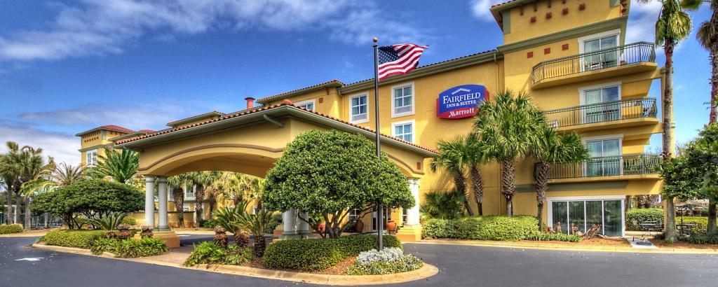 Destin, Florida Hotels On Emerald Coast   Fairfield Inn & Suites Destin - Map Of Hotels In Destin Florida