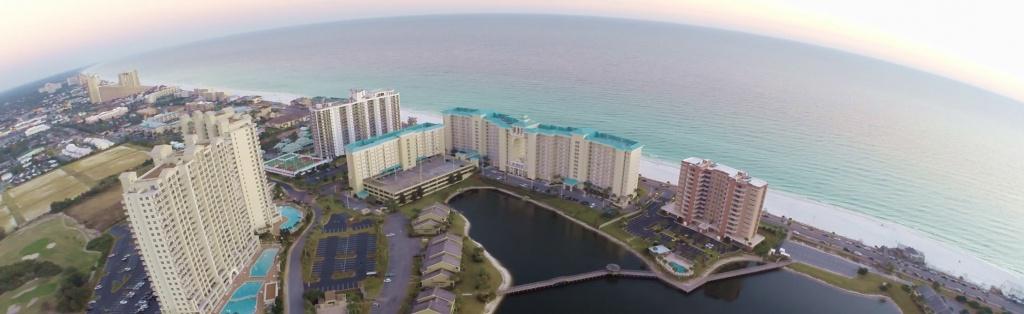 Destin Florida Resort And Condo Rentals - Seascape Resort - Seascape Resort Destin Florida Map