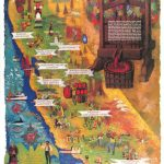 Detail Feedback Questions About California Farm Harbor Vintage   California Map Poster