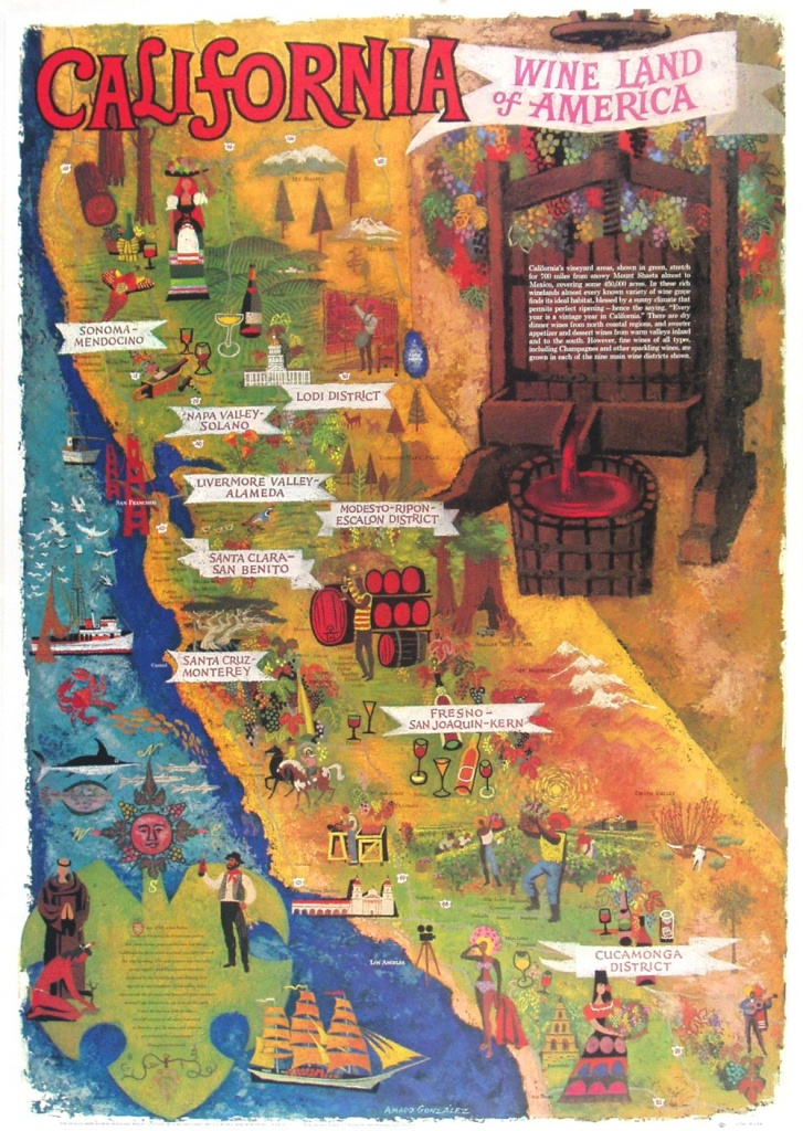 Detail Feedback Questions About California Farm Harbor Vintage - California Map Poster
