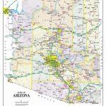Detailed Arizona Map | Maps In 2019 | Map, Printable Maps, Arizona - Printable Map Of Arizona