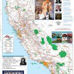 Detailed California Road / Highway Map   [2000 Pix Wide   3 Meg   California Road Map Book