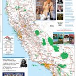 Detailed California Road / Highway Map - [2000 Pix Wide - 3 Meg - Road Map Of California And Nevada