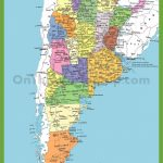 Detailed Map Of Argentina With Cities   Printable Map Of Argentina