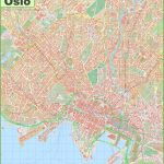 Detailed Map Of Oslo   Printable Map Of Oslo Norway