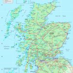 Detailed Map Of Scotland - Printable Map Of Scotland