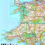 Detailed Map Of Wales   Printable Map Of Wales