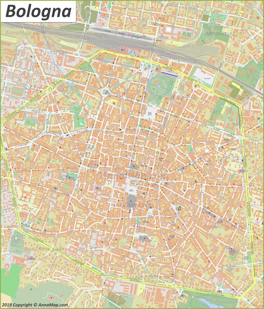 Detailed Tourist Maps Of Bologna | Italy | Free Printable Maps Of - Bologna Tourist Map Printable