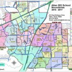 Dfw School District Map - Dfw Isd Map (Texas - Usa) - Texas School District Map