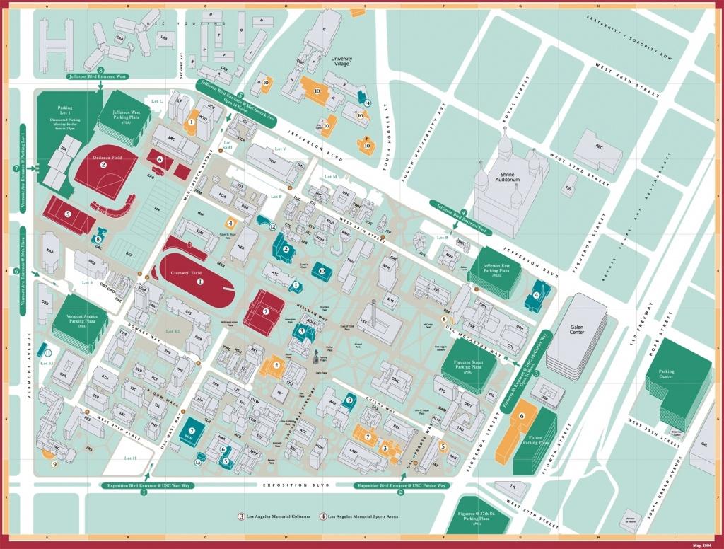 Directions Google Maps California University Of Southern California - University Of Southern California Map