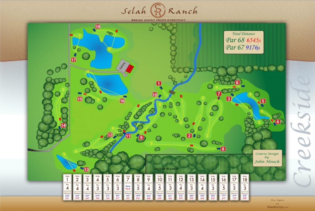 Disc Golf - Texas Golf Courses Map