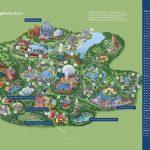Disney La Carte - Walt Disney World Map (Floride - Usa) - Walt Disney Florida Map