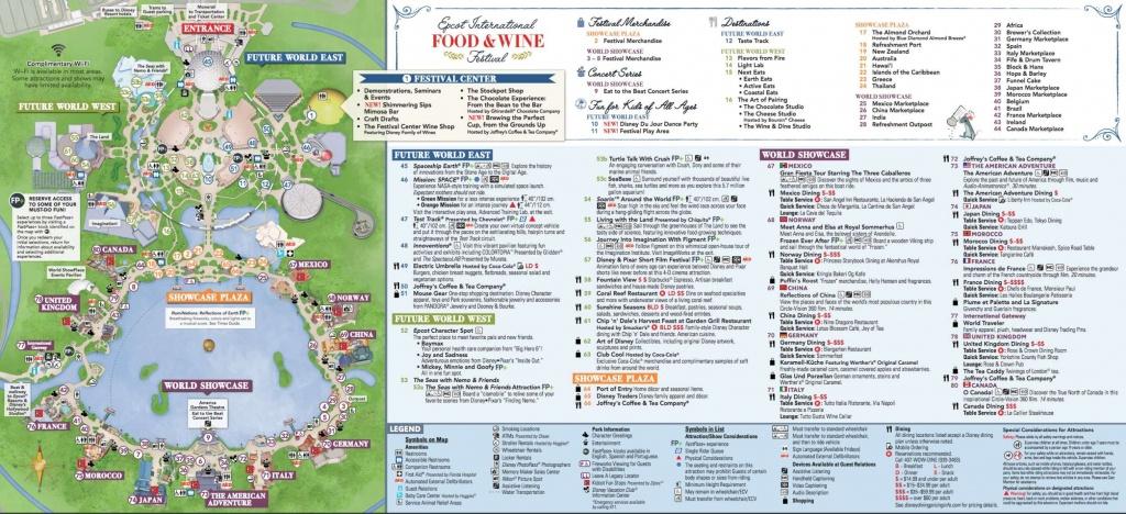 Disney World Epcot Map Fresh Walt Disney World Epcot Map 2017 Idée - Printable Epcot Map