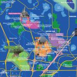 Disney World Map   Florida Theme Parks On A Map
