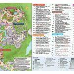 Magic Kingdom Park Map – Walt Disney World – Printable Epcot ...