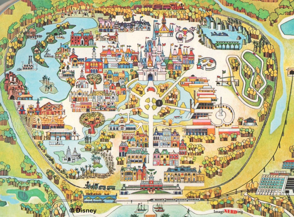 Disney World Maps Throughout The Years | Disney | Disney World Map - Printable Disney Park Maps