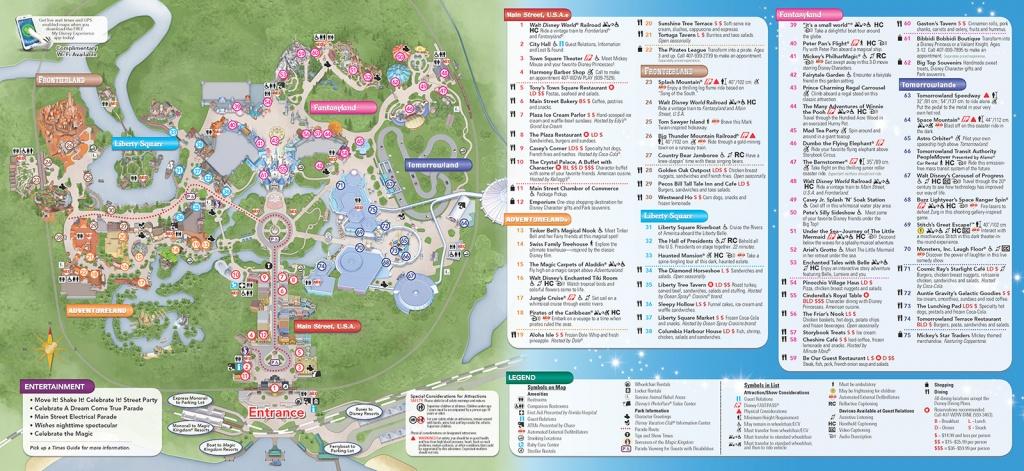 Disney World Theme Park Maps 2017 Disney Maps And Maps Of Disney - Printable Disney World Maps 2017
