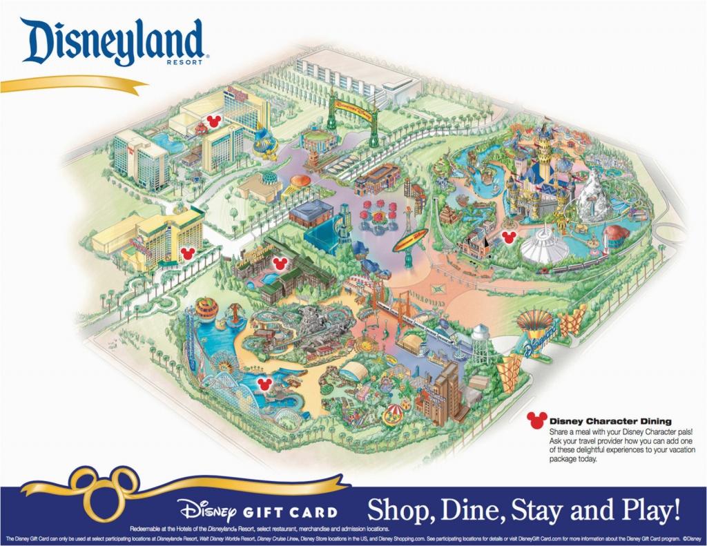 Disneyland And California Adventure Map Printable Map Of Disneyland - Printable Map Of Disneyland And California Adventure