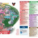 Disneyland Park Map In California, Map Of Disneyland   Disneyland Map 2018 California