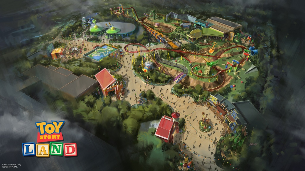 Disney's 'toy Story Land' Officially Opens June 30 | Fortune - Toy Story Land Florida Map