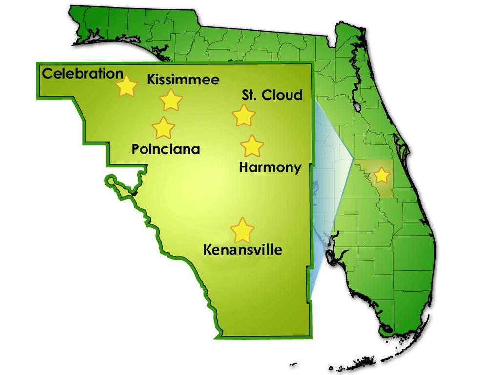 District Facts/stats - Osceola High - Map Of Osceola County Florida