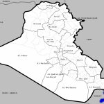 Districts Of Iraq   Wikipedia   Printable Map Of Iraq