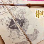 Diy Harry Potter Marauder's Map Printable And Parchment Easy Diy   Harry Potter Map Marauders Free Printable