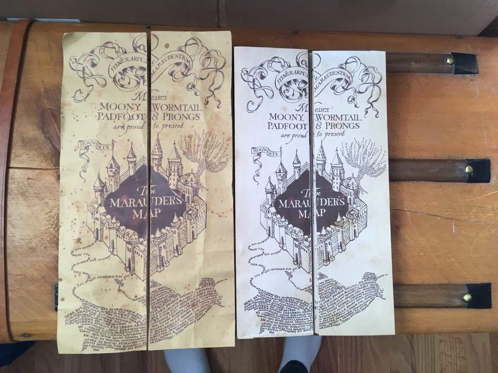 Diy Marauder's Map!!!! | Harry Potter Amino - Marauders Map Printable